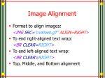 image alignment5
