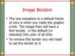 image borders