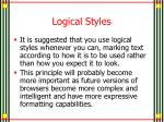 logical styles3