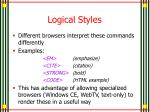 logical styles4