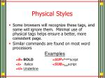 physical styles1