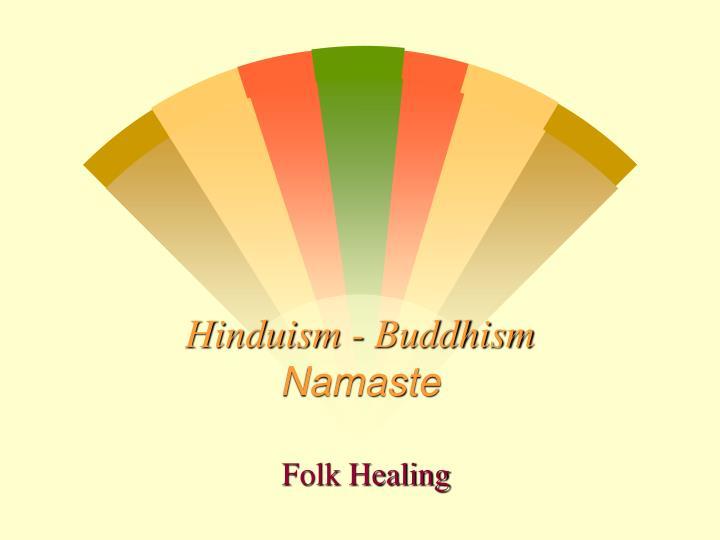 Hinduism buddhism namaste