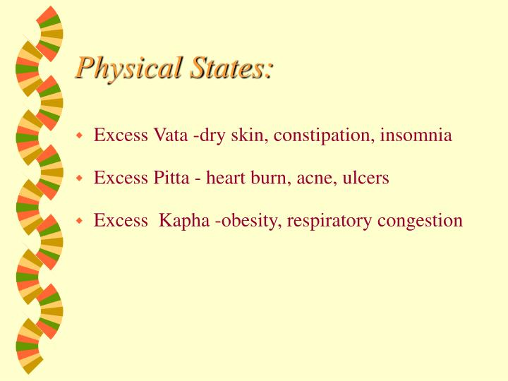 Physical States: