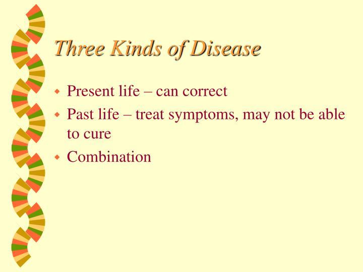 Three Kinds of Disease