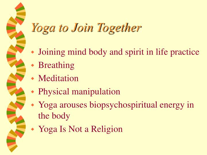 Yoga to Join Together