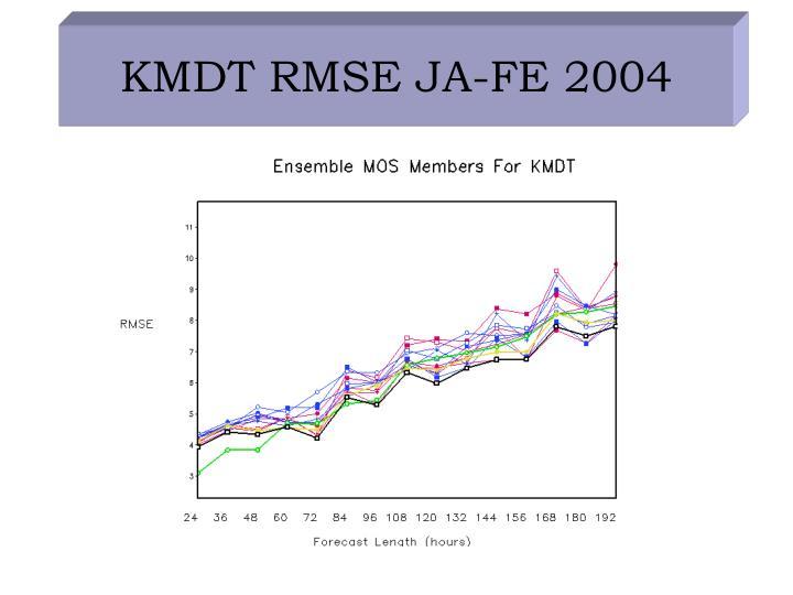 KMDT RMSE JA-FE 2004