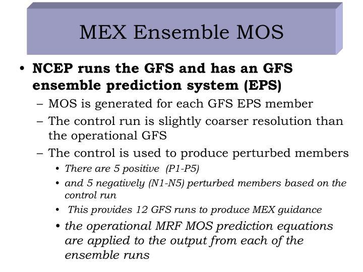 MEX Ensemble MOS