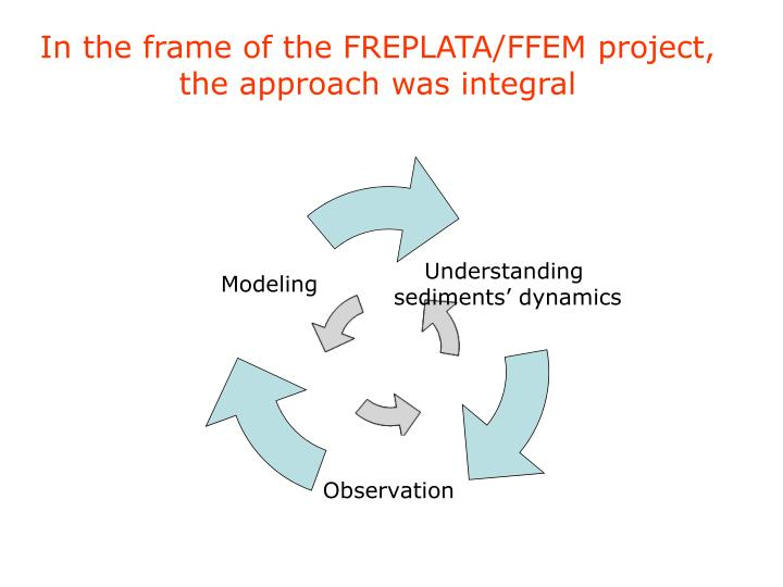 In the frame of the FREPLATA/FFEM project, the approach was integral