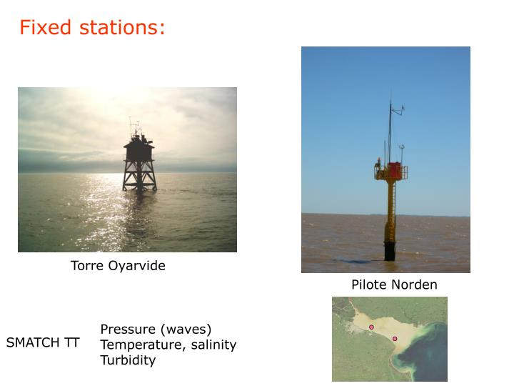 Fixed stations: