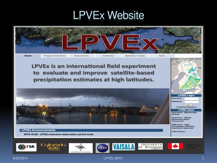 lpvex website