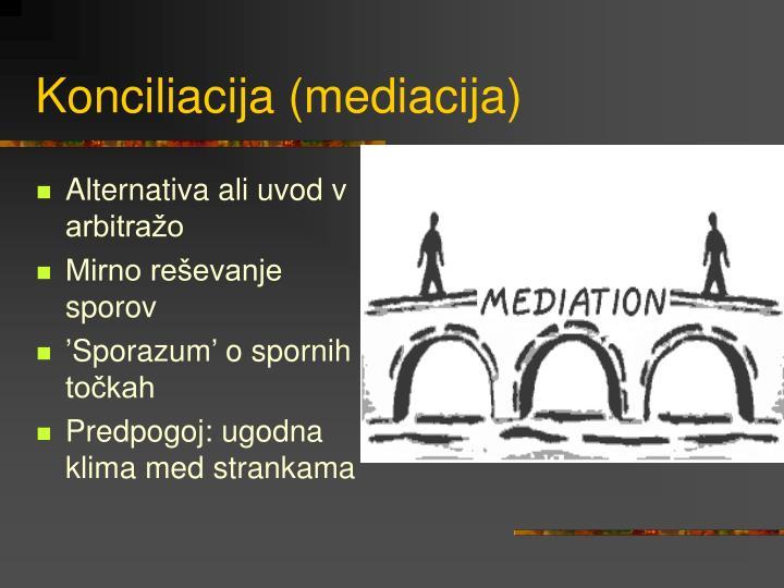 Konciliacija (mediacija)