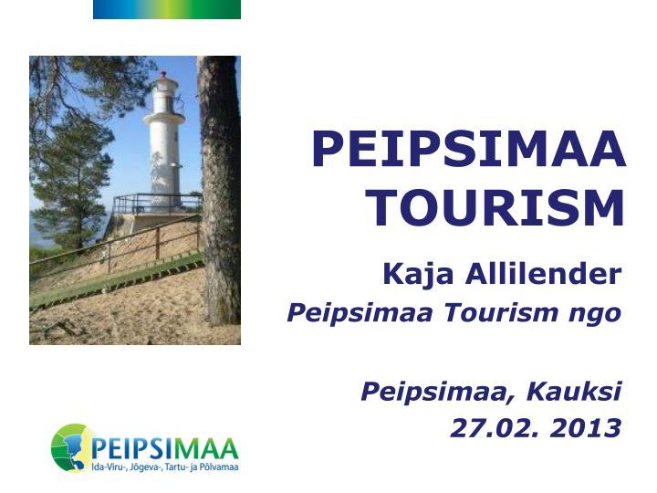Peipsimaa tourism