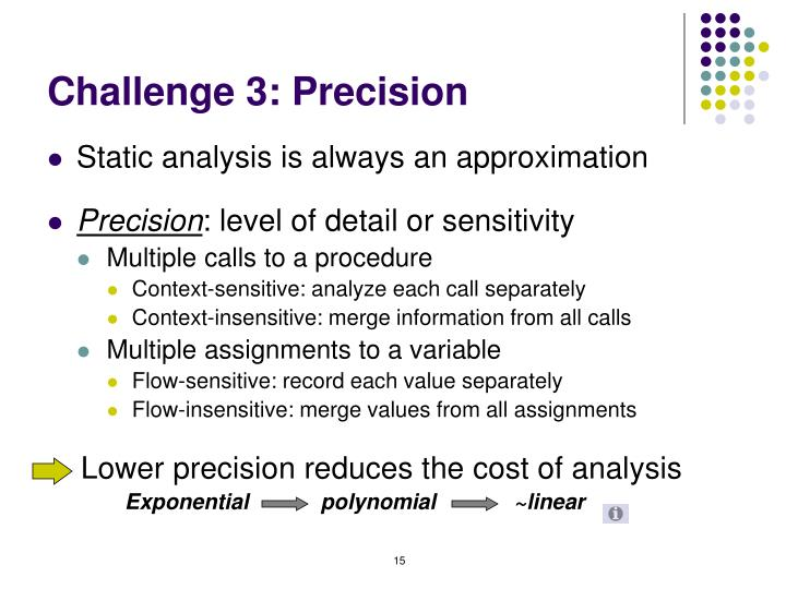Challenge 3: Precision
