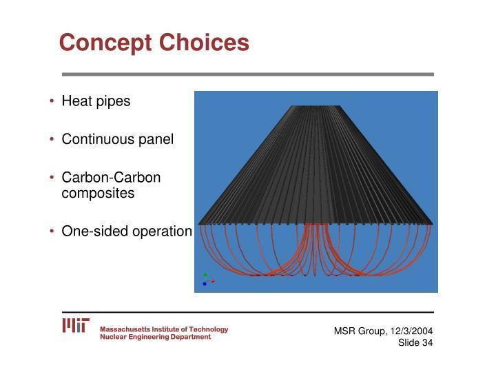 Concept Choices