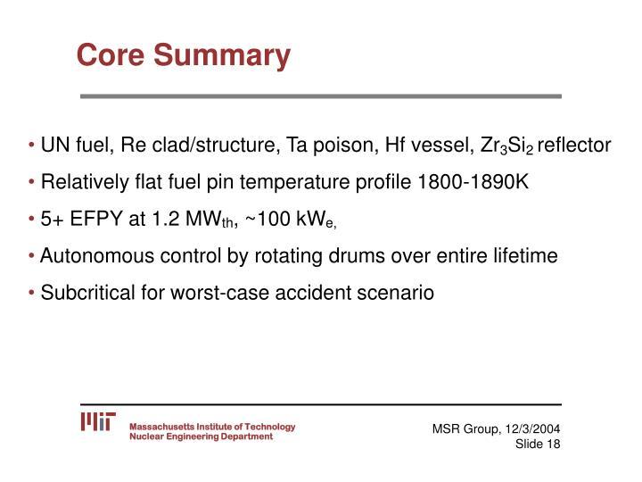 Core Summary