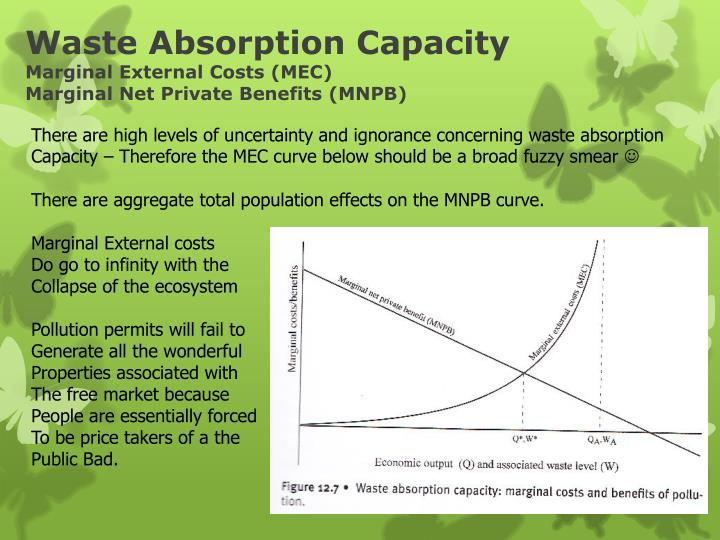 Waste Absorption Capacity