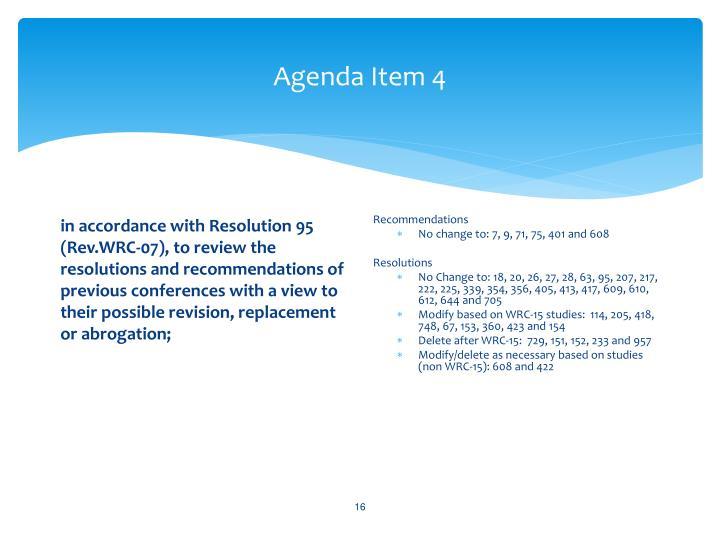 Agenda Item 4