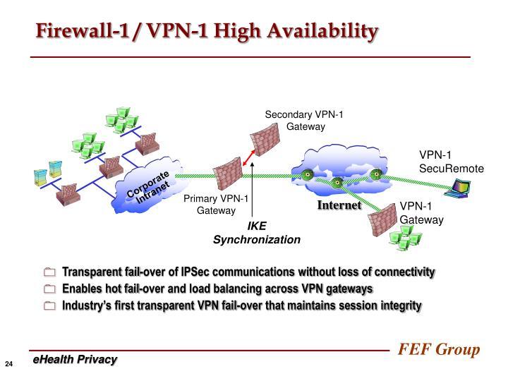 Secondary VPN-1