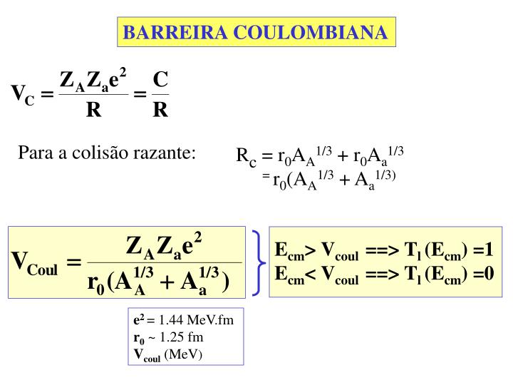 BARREIRA COULOMBIANA