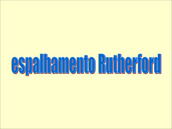 Espalhamento Rutherford