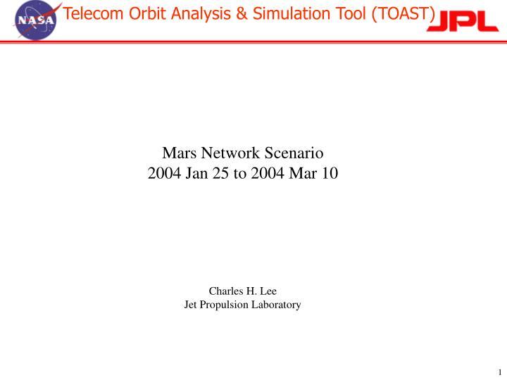 Mars Network Scenario