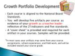 growth portfolio development