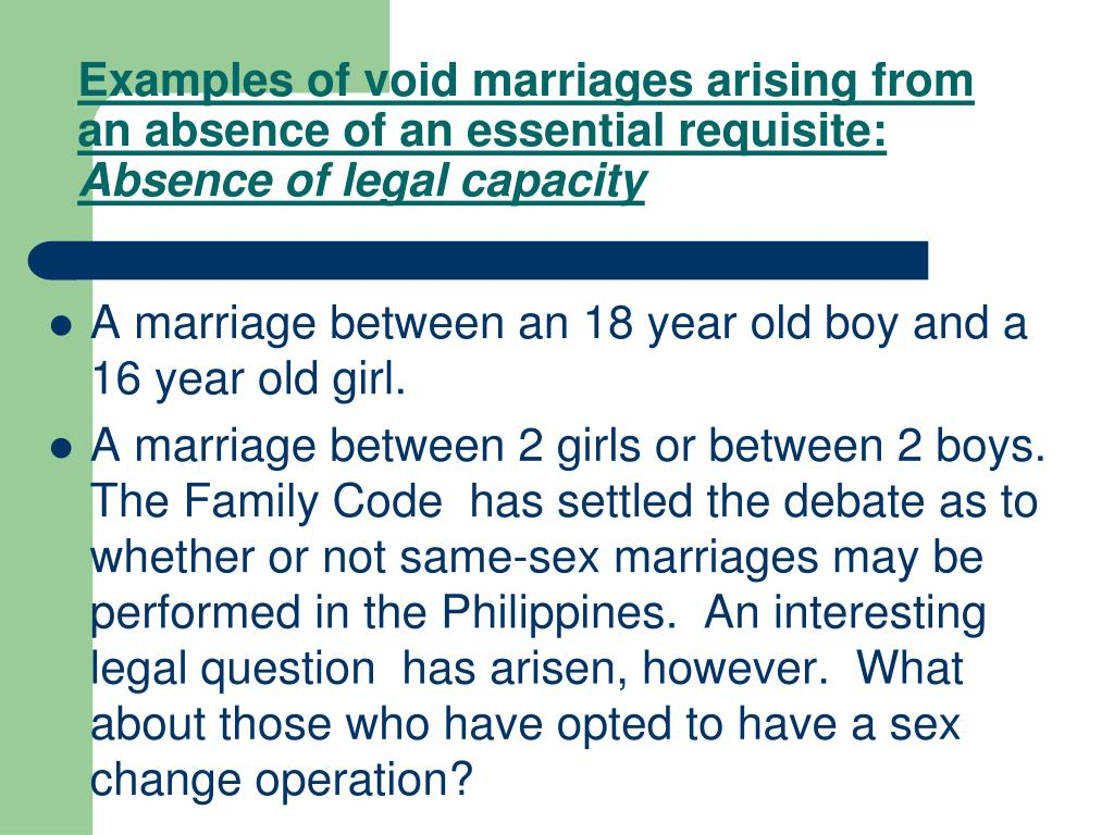 PPT - MARRIAGE LAWS IN THE PHILIPPINES PowerPoint