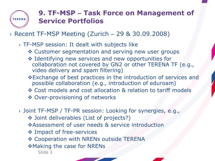 9 tf msp task force on management of service portfolios1