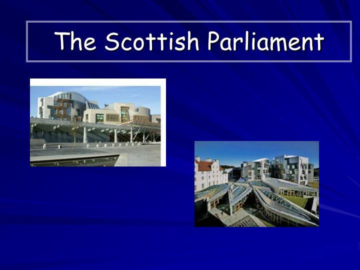 the scottish parliament n.