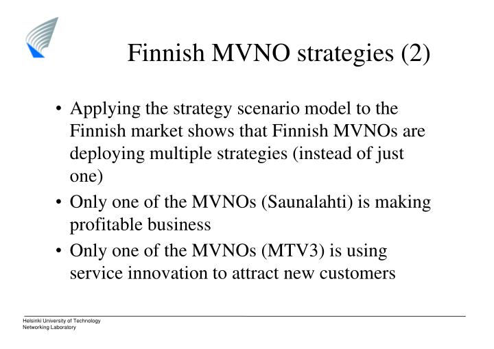Finnish MVNO strategies (2)