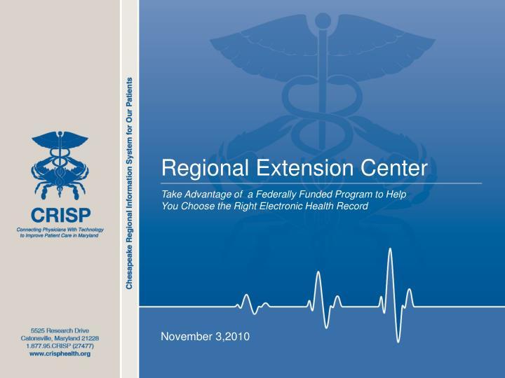 Regional Extension Center