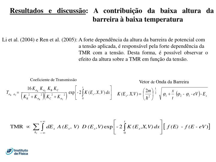 Coeficiente de Transmissão