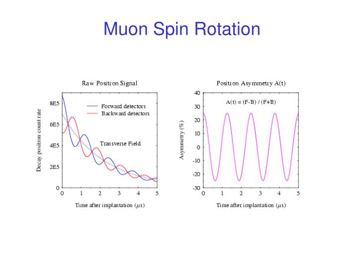 Muon Spin Rotation