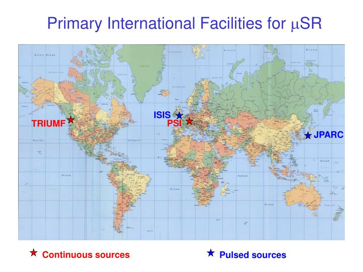 Primary International Facilities for