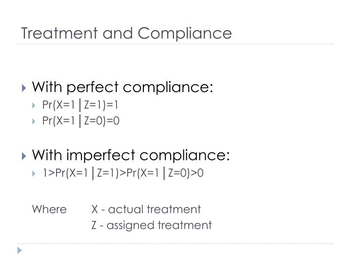 Treatment and Compliance