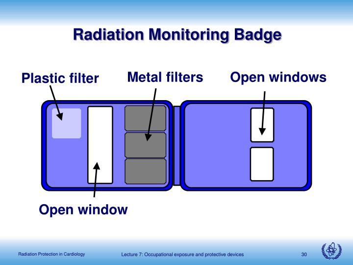 Radiation Monitoring Badge