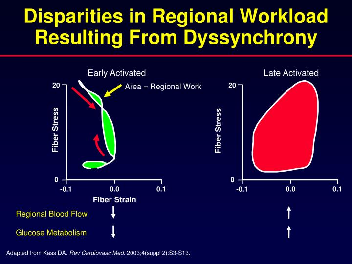Disparities in Regional Workload