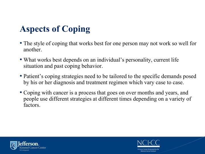 Aspects of Coping