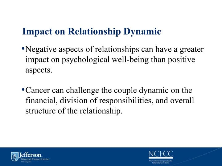 Impact on Relationship Dynamic