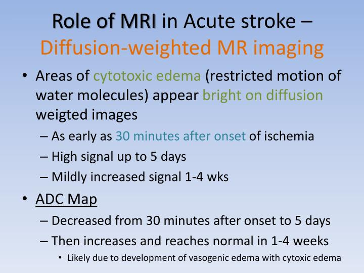 Role of MRI