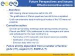 future perspectives and issues effects corrective actions