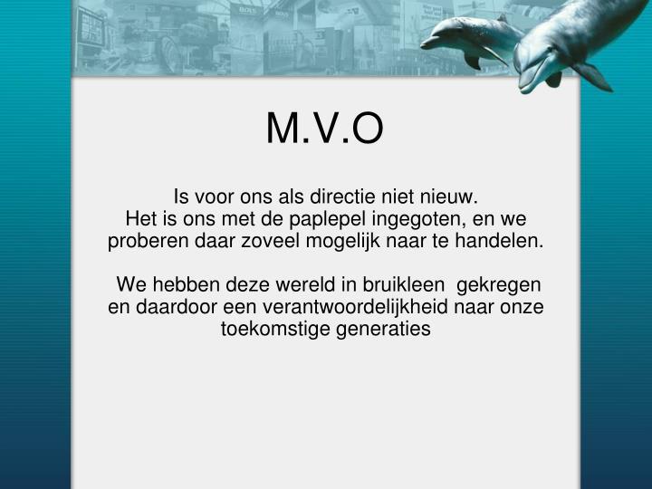 M.V.O