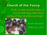 church of the young