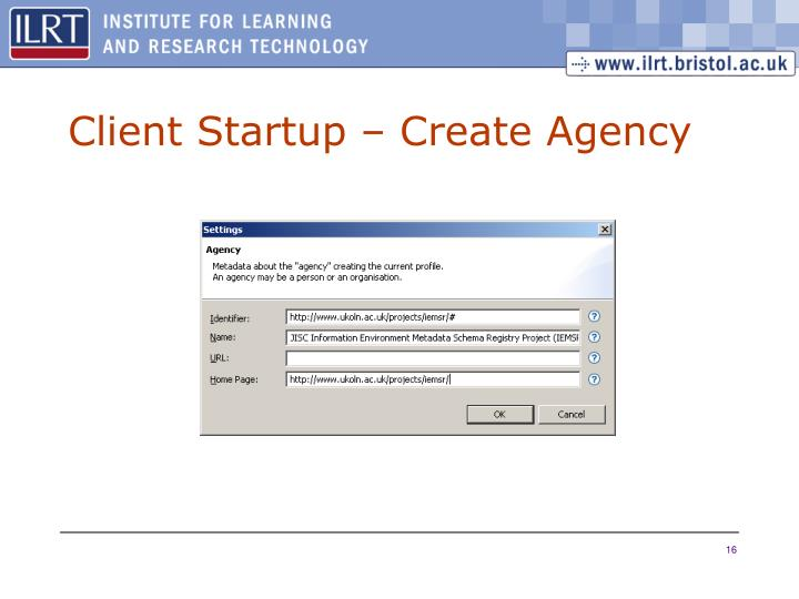 Client Startup – Create Agency