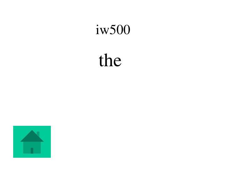 iw500