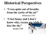 historical perspectives1