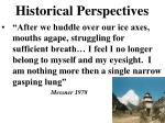 historical perspectives2