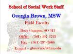 school of social work staff1
