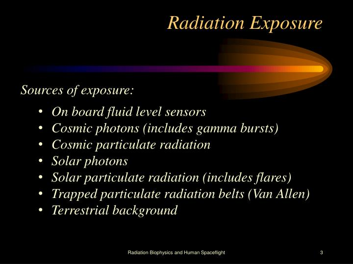 Radiation exposure1