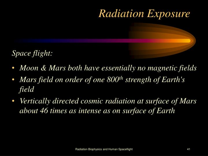 Radiation Exposure
